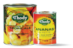 Thody Pineapple and fruit salads